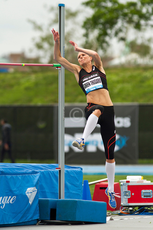 adidas Grand Prix Diamond League professional track & field meet: womens high jump, Emma GREEN TREGARO, Sweden