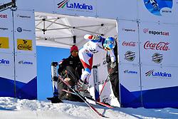 GMUR Theo, LW9-1, SUI, Giant Slalom at the WPAS_2019 Alpine Skiing World Cup, La Molina, Spain