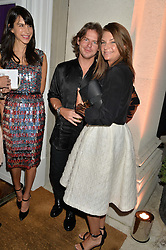 CHRISTOPHER KANE and NATALIE MASSENET at a party hosed by the US Ambassador to the UK Matthew Barzun, his wife Brooke Barzun and editor of UK Vogue Alexandra Shulman in association with J Crew to celebrate London Fashion Week held at Winfield House, Regent's Park, London on 16th September 2014.