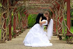 Bridal Photos. International Peace Garden. 6.4.10 Photos by Colin E Braley