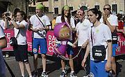 ROMA 17 MAGGIO 2015<br /> NAZIONALE FEMMINILE SENIOR ALLA RECE FOR THE CURE 2015<br /> NELLA FOTO <br /> FOTO CIAMILLO