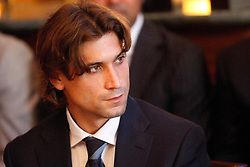19.11.2010, Marriott County hall, London, ENG, ATP World Tour, Finals, im Bild Ferrer, David (ESP). EXPA Pictures © 2010, PhotoCredit: EXPA/ InsideFoto/ Hasan Bratic +++++ ATTENTION - FOR AUSTRIA/AUT, SLOVENIA/SLO, SERBIA/SRB an CROATIA/CRO CLIENT ONLY +++++