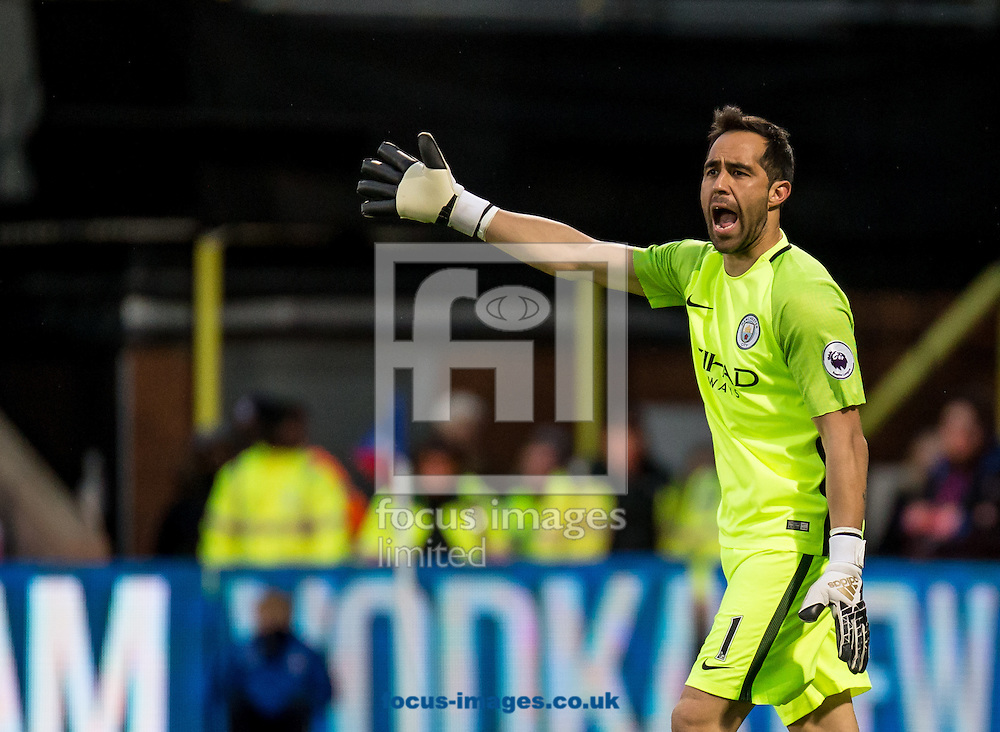 Claudio Bravo of Manchester City during the Premier League match at Selhurst Park, London<br /> Picture by Liam McAvoy/Focus Images Ltd 07413 543156<br /> 19/11/2016