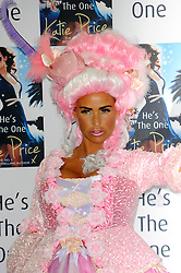 Katie Price Book Launch.<br /> English media personality, reality TV star, author, former glamour model, occasional singer and businesswoman Katie Price attends a photocall to launch her new book 'He's The One' at The Worx, <br /> London, United Kingdom<br /> Tuesday, 18th June 2013<br /> Picture by Chris  Joseph / i-Images