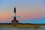 Babylon, NY, November 11, 2016: --- Magic hour at The Fire Island Lighthouse.     © Audrey C. Tiernan
