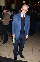 SIR PETER O'SULLEVAN at a party to celebrate the opening of the new Piccadilly Circus Frankie's Bar & Grill at The Criterion, Piccadilly Circus, London on 25th January 2006.<br />