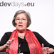 20160615 - Brussels , Belgium - 2016 June 15th - European Development Days - My city , my right - Towards inclusive and equitable urban spaces for women - Clare Short -Chairperson Cities Alliance © European Union
