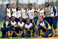 2016 A&T Softball vs S.C. State University