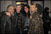 PAUL SIMONON; SERENA REES; KATE MOSS, Private view, Paul Simonon- Wot no Bike, ICA Nash and Brandon Rooms, London. 20 January 2015