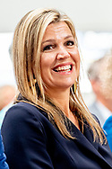 26-6-2018  ITTERVOORT - Queen Maxima during the signing of a covenant for better music education in schools in her role as honorary president of Meer Muziek in de Klas. ROBIN UTRECHT