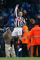Photo: Steve Bond/Sportsbeat Images.<br /> West Bromwich Albion v Charlton Athletic. Coca Cola Championship. 15/12/2007. Kevin Phillips celebrates his goal after return from injury