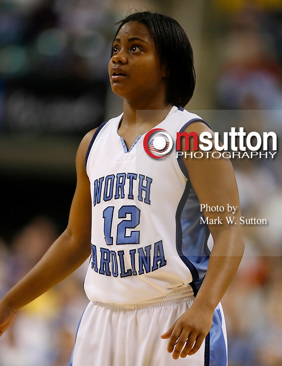 during the 2007 ACC Women's Basketball Tournament game between North Carolina and North Carolina State Greensboro Coluseum in Greensboro, North Carolina.  UNC won 60–54.  March 04, 2007  (Photo by Mark W. Sutton)