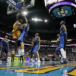01-21-2012 Dallas Mavericks at New Orleans Hornets