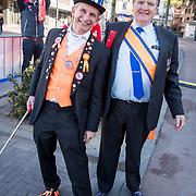 NLD/Tilburg/20170427- Koningsdag 2017, Johan Vlemmix en Willem-Alexander lookalike