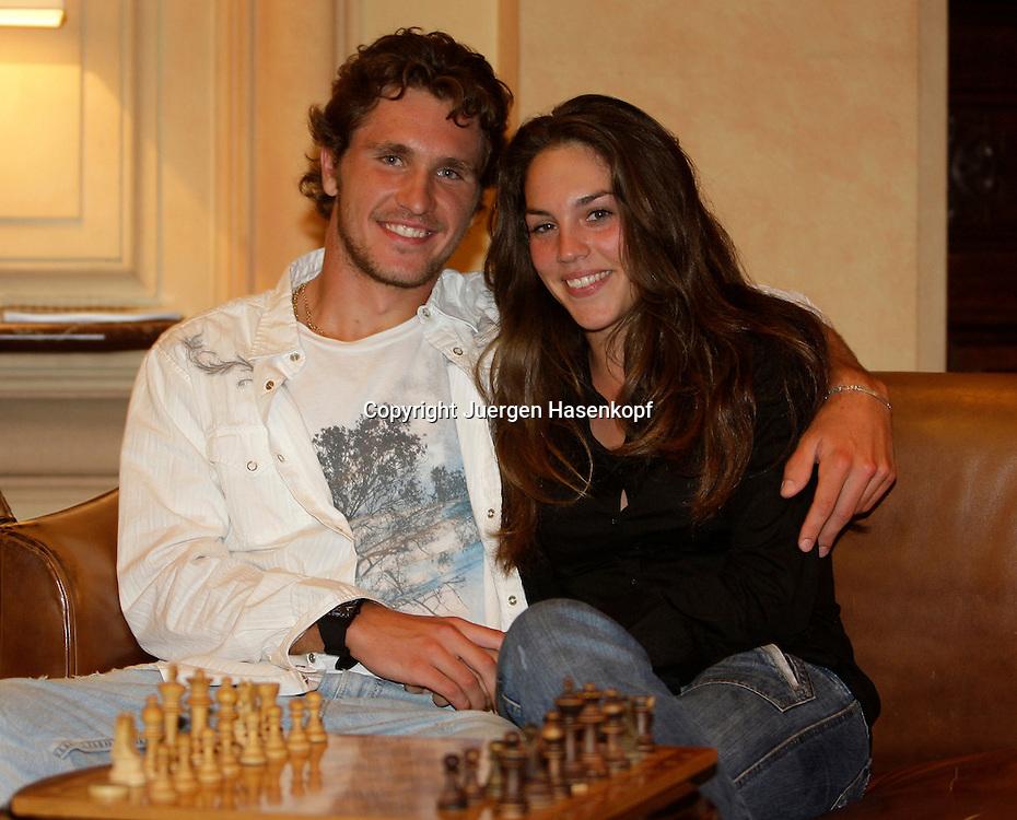 Tennis Profi Mischa Zverev (GER) und Freundin Charlene