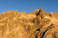 Das Gross Furkahorn im ersten Sonnenlicht, Furka, Uri, Schweiz<br /> <br /> The Gross Furkahorn in the first light , Furka, Uri, Switzerland