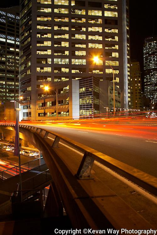 George Street at night