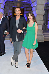 OSCAR HUMPHRIES and TARA DuROSS at the Royal Academy of Arts Summer Exhibition Preview Party at The Royal Academy of Arts, Burlington House, Piccadilly, London on 7th June 2016.