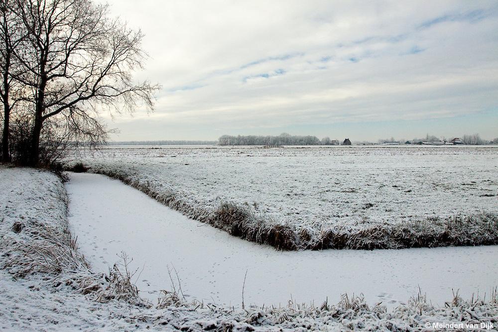 Omgeving Lytse Wiid bij Sintjohannesga - Peter Tazelaarpad - Veenscheiding.