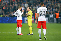Arbitre Lionel Jaffredo / MARCO VERRATTI - 15.03.2015 - Bordeaux / Paris Saint Germain - 29e journee Ligue 1<br />