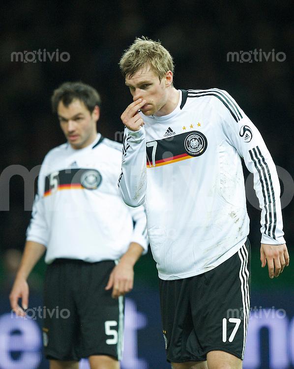 Fussball International 2008/2009 19.11.2008 Freundschaftsspiel Deutschland - England Per MERTESACKER (GER).