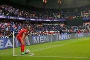 Lucas Rodrigues Moura da Silva (psg) during the French championship Ligue 1 football match between Paris Saint-Germain (PSG) and Bastia on May 6, 2017 at Parc des Princes Stadium in Paris, France - Photo Stephane Allaman / ProSportsImages / DPPI