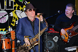 VAN MORRISON at Hoping's Greatest Hits - the 10th Anniversary of The Hoping Foundation's charity benefit held at Ronnie Scott's, 47 Frith Street, Soho, London on 16th June 2016.