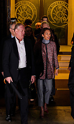 © Licensed to London News Pictures. 07/12/2016. London, UK. GINA MILLER (right) leaves the Supreme Court in Westminster, London following day three of a hearing to appeal against a November 3 High Court ruling that Article 50 cannot be triggered without a vote in Parliament. Photo credit: Ben Cawthra/LNP