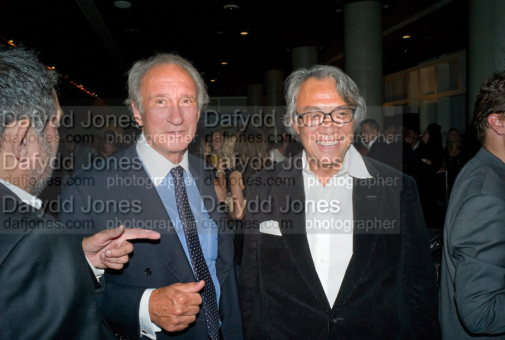 Sir Mark Weinberg; David Tang, After party for the new production of ' The Rain Man' The Trafalgar Hotel London. 10 September 2008 *** Local Caption *** -DO NOT ARCHIVE-© Copyright Photograph by Dafydd Jones. 248 Clapham Rd. London SW9 0PZ. Tel 0207 820 0771. www.dafjones.com.