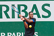Gael Monfils (fra) during the Roland Garros French Tennis Open 2018, day 7, on June 2, 2018, at the Roland Garros Stadium in Paris, France - Photo Pierre Charlier / ProSportsImages / DPPI