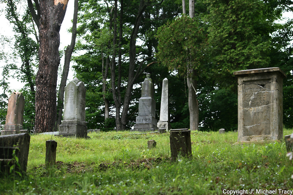 A very old, country cemetery in the backwoods of upstate New York.