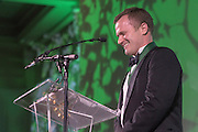 Travis Kidner was awarded the Charles J and Claire O. Ping Recent Graduate Award during the 2016 Alumni Awards Gala at Ohio University's Baker Center Ballroom on Friday, October 07, 2016.