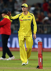 Steven Smith(c) of Australia during the 3rd ODI match between South Africa and Australia held at Kingsmead Stadium in Durban, Kwazulu Natal, South Africa on the 5th October  2016<br /> <br /> Photo by: Steve Haag/ RealTime Images