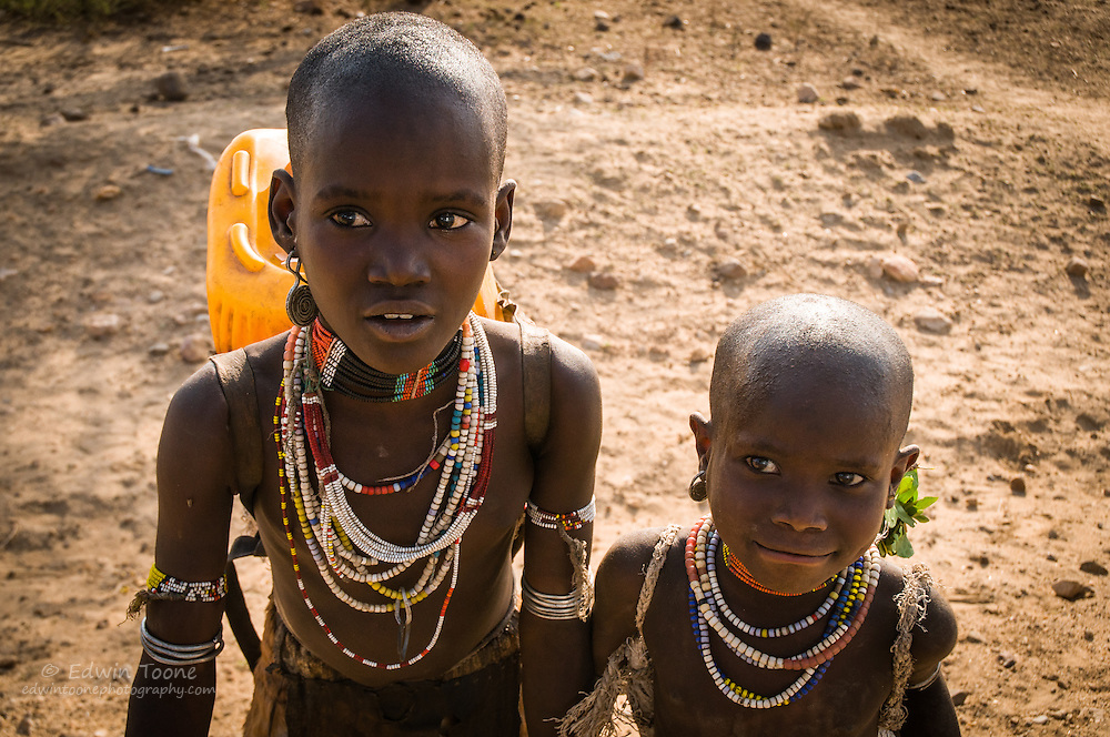 The region around  the Omo River Valley is home to more than 50 tribal groups.