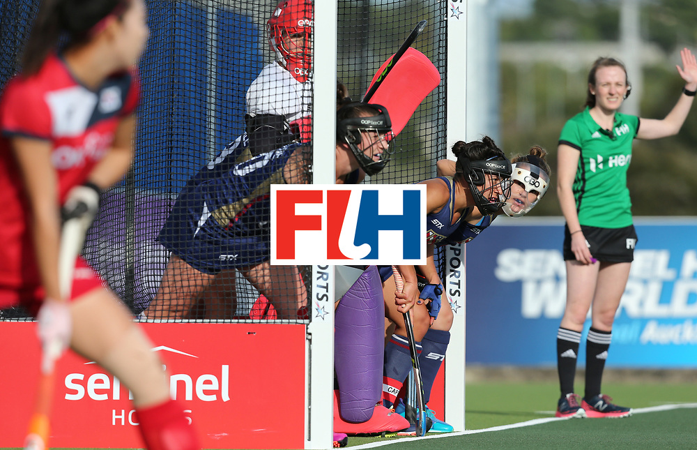 New Zealand, Auckland - 17/11/17  <br /> Sentinel Homes Women&rsquo;s Hockey World League Final<br /> Harbour Hockey Stadium<br /> Copyrigth: Worldsportpics, Rodrigo Jaramillo<br /> Match ID: 10291 - USA vs KOR<br /> Photo: