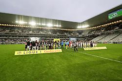 December 23, 2018 - Bordeaux, France - ENTREE DES JOUEURS - TRIBUNES - SUPPORTERS - EQUIPE DE FOOTBALL D AMIENS - EQUIPE DE FOOTBALL DE BORDEAUX (Credit Image: © Panoramic via ZUMA Press)