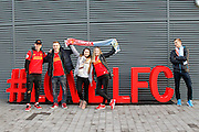 Fans love LFC before the Premier League match between Liverpool and Manchester City at Anfield, Liverpool, England on 31 December 2016. Photo by Craig Galloway.