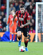 Diego Rico (21) of AFC Bournemouth during the Premier League match between Bournemouth and Norwich City at the Vitality Stadium, Bournemouth, England on 19 October 2019.