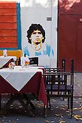 La Boca neighborhood. Buenos Aires, Argentina.