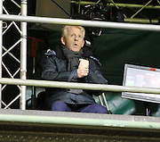 Scotland boss Gordon Strachan feels the cold at Pittodrie - Aberdeen v Dundee, Ladbrokes Premiership at Pittodrie<br /> <br />  - &copy; David Young - www.davidyoungphoto.co.uk - email: davidyoungphoto@gmail.com