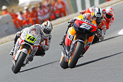 04.07.2010, Montmelo, Barcelona, ESP, MotoGP, Grand Prix von Katalonien im Bild Dani Pedrosa - Repsol Honda team, EXPA Pictures © 2010, PhotoCredit: EXPA/ InsideFoto/ Semedia *** ATTENTION *** FOR AUSTRIA AND SLOVENIA USE ONLY! / SPORTIDA PHOTO AGENCY
