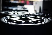 Pirelli tire detail.