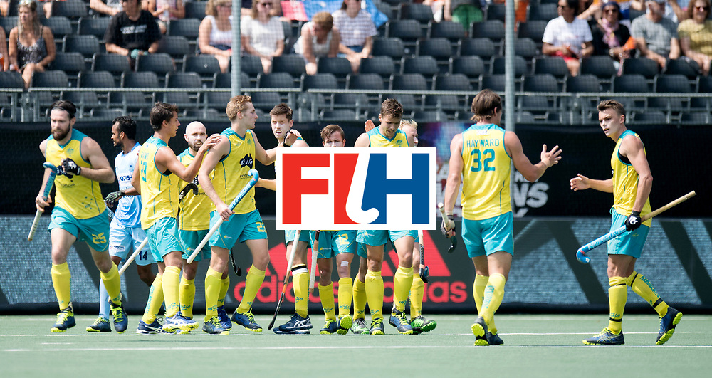 BREDA - Rabobank Hockey Champions Trophy<br /> India - Australia<br /> Photo: Australia celebrate<br /> COPYRIGHT WORLDSPORTPICS FRANK UIJLENBROEK