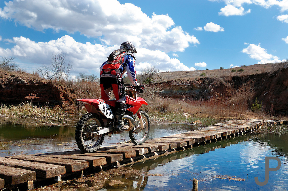 OCCRA dirt bike race in western Oklahoma