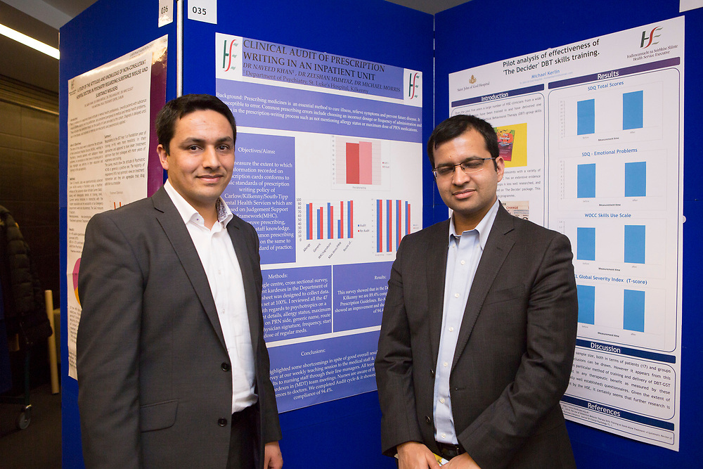 College of Psychiatrists Sping Conference 2018 <br /> April 12th &amp; 13th <br /> Sheraton Hotel Athlone<br /> Dr. Naveed Khan, Dr Tahir Saleem