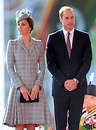Pregnant KATE Middleton Attends Singapore State Welcome 2