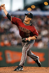 SAN FRANCISCO, CA - APRIL 20: Zack Greinke #21 of the Arizona Diamondbacks pitches against the San Francisco Giants during the first inning at AT&T Park on April 20, 2016 in San Francisco, California.  (Photo by Jason O. Watson/Getty Images) *** Local Caption *** Zack Greinke