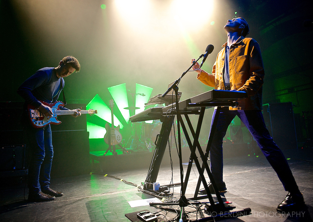 Wild Beasts playing live at the Cambridge Corn Exchange on 31 March 2014