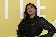 2019, May 09. Pathe ArenA, Amsterdam, the Netherlands. Rabia Sitabi at the dutch premiere of The Hustle.