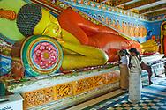 Women respecting Buddha, Anuradhapura, Sri Lanka